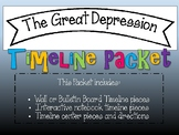 Great Depression Timeline Packet