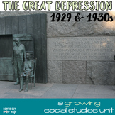 Great Depression Unit 1920-1930 (Georgia Standard of Excel