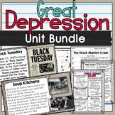 Great Depression Unit Bundle SS5H3