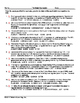 Great Depression Vocabulary Worksheet Collection