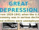 Great Depression Word Wall