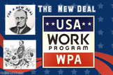 Great Depression Word Wall Posters
