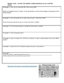 Great Depression Worksheets