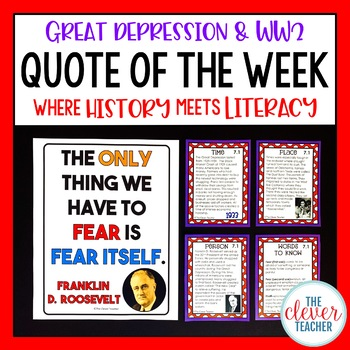 Great Depression and World War 2