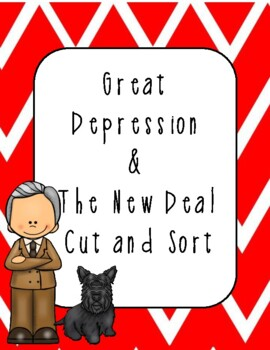 Great Depression and New Deal Cut and Sort
