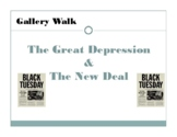 Great Depression and New Deal Gallery Walk