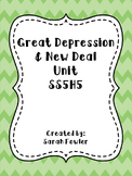 Great Depression and New Deal Unit/SS5H5