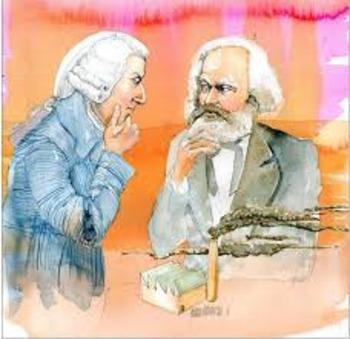 Great Economic Thinkers Bundle - Adam Smith and Karl Marx plays