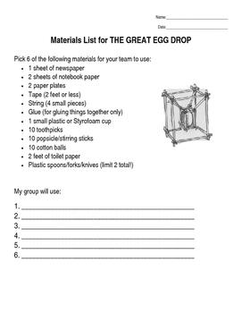 Great Egg Drop