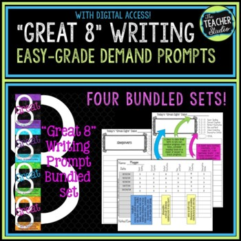 Great Eight Quick Score Writing Demand Prompt BUNDLE