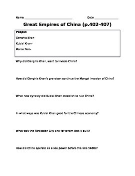 Great Empires of China