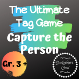 Great Beginning of the Year Outside Game: Capture the Person