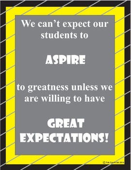 Great Expectations!