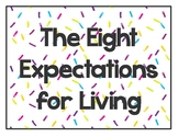 Great Expectations 8 Expectations for Living 36 Life Principles Confetti Theme