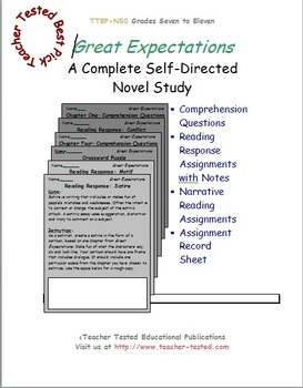 Great Expectations: A Complete Novel Study