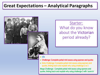 Great Expectations: Analytical Paragraphs