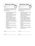 Great Expectations Behavior Note