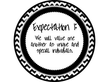 Great Expectations Black and Red Chevron Posters
