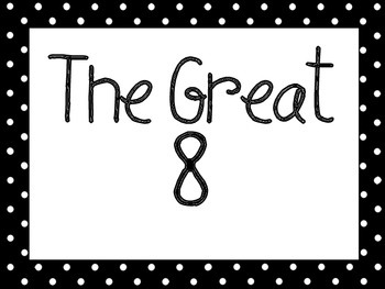 Great Expectations Black and Red Polka Dot Posters