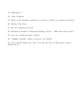Great Expectations Book 2 Short Essay Test