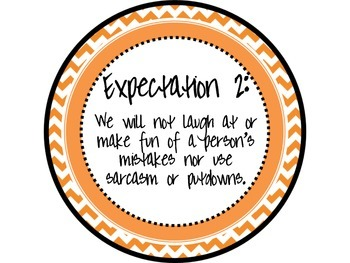 Great Expectations Bright Chevron Posters