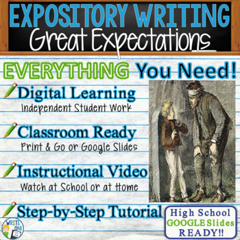 Great Expectations - Charles Dickens  Text Dependent Analysis Expository Writing