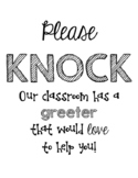 Great Expectations: Classroom Greeter
