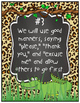 Great Expectations Eight Life Principles Jungle/Safari/Zoo Theme