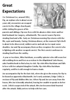 Great Expectations Handout
