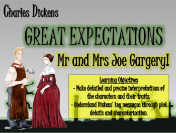 Great Expectations: Mr and Mrs Joe Gargery!