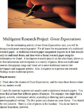 Great Expectations Multigenre Research Project