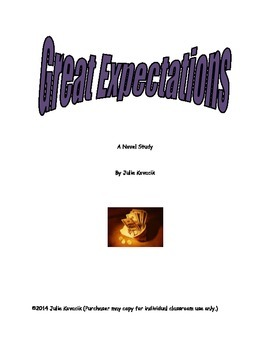 Great Expectations Novel Study
