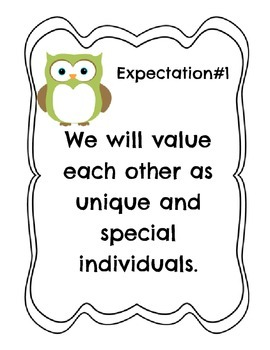 Great Expectations Owl theme