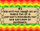 Great Expectations Rainbow Chevron Posters