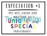 Great Expectations Posters, GE Model School, Expectation o