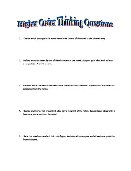 Great Expectations Quizzes/Tests/Activities