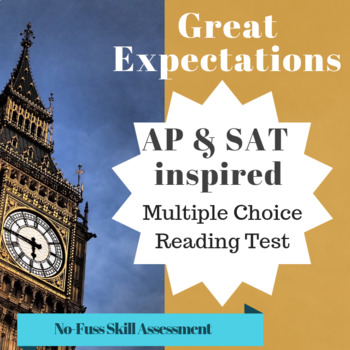 Great Expectations Multiple Choice Worksheets Teaching