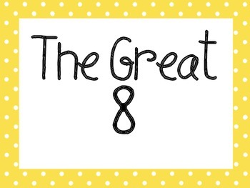 Great Expectations Red and Yellow Polka Dot Posters