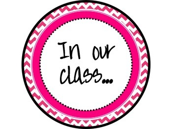 Great Expectations Teal and Pink Chevron Posters