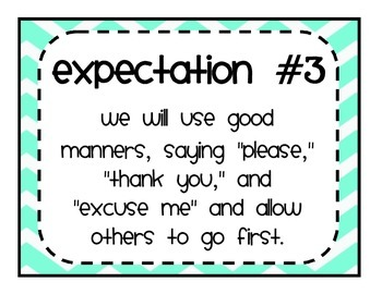 Great Expectations: The 8 Expectations