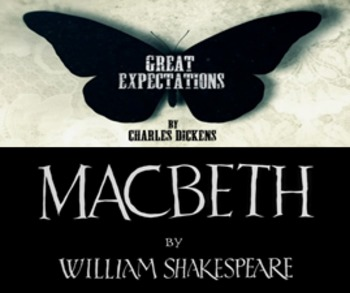Great Expectations and Macbeth Unit - 28 Lessons, PPT, Resources, Homework!