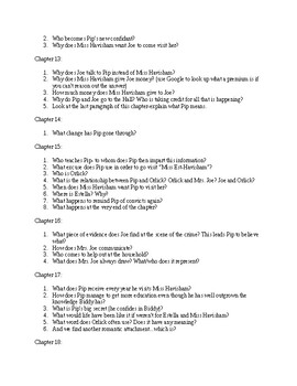 Great Expectations study questions