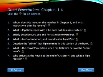 Great Expectations - Interactive PowerPoint Presentation