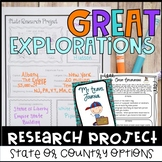 State Research Project & Country Research Project - Distance Learning