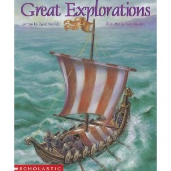 Great Explorations: outline, taking notes, short essay (Common Core aligned)