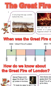 Great Fire of London Report for 7 to 11 year olds