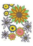 Elementary Visual Art Project -  Flowers Most Fabulous