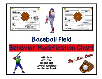 Baseball Field Behavior Modification Chart