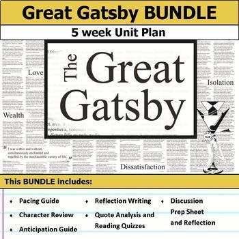 Great Gatsby Unit Bundle