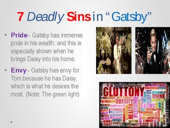 Great Gatsby Activities, Resources, and Literature Plan